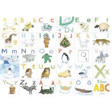 Ellens ABC underlägg