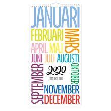 Design och Trend kalender 2020