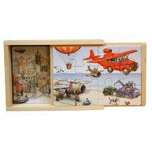 Flygmaskiner 4 x trä av Jan Lööf