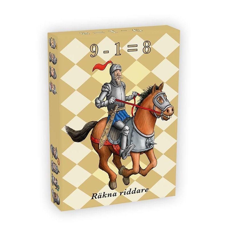 Räkna med riddare kortspel
