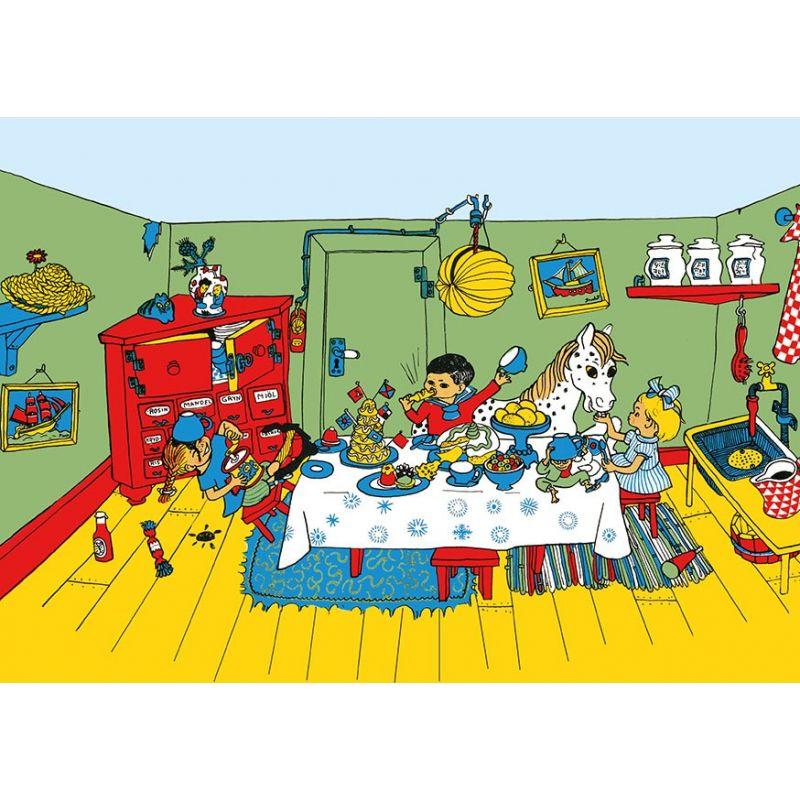 Pippi Långstrump kalas A4