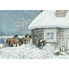 Lille Viggs julafton, ladan