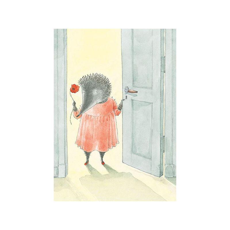 Lilla Kotten får besök, dörren
