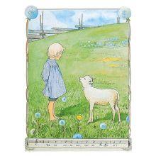 Bä bä vita lamm Beskow
