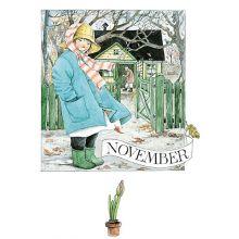 November Linneas månadskort